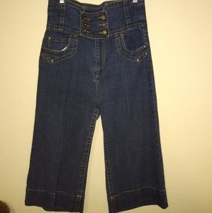 Apollo High Waisted Capri Jeans Size 13/14